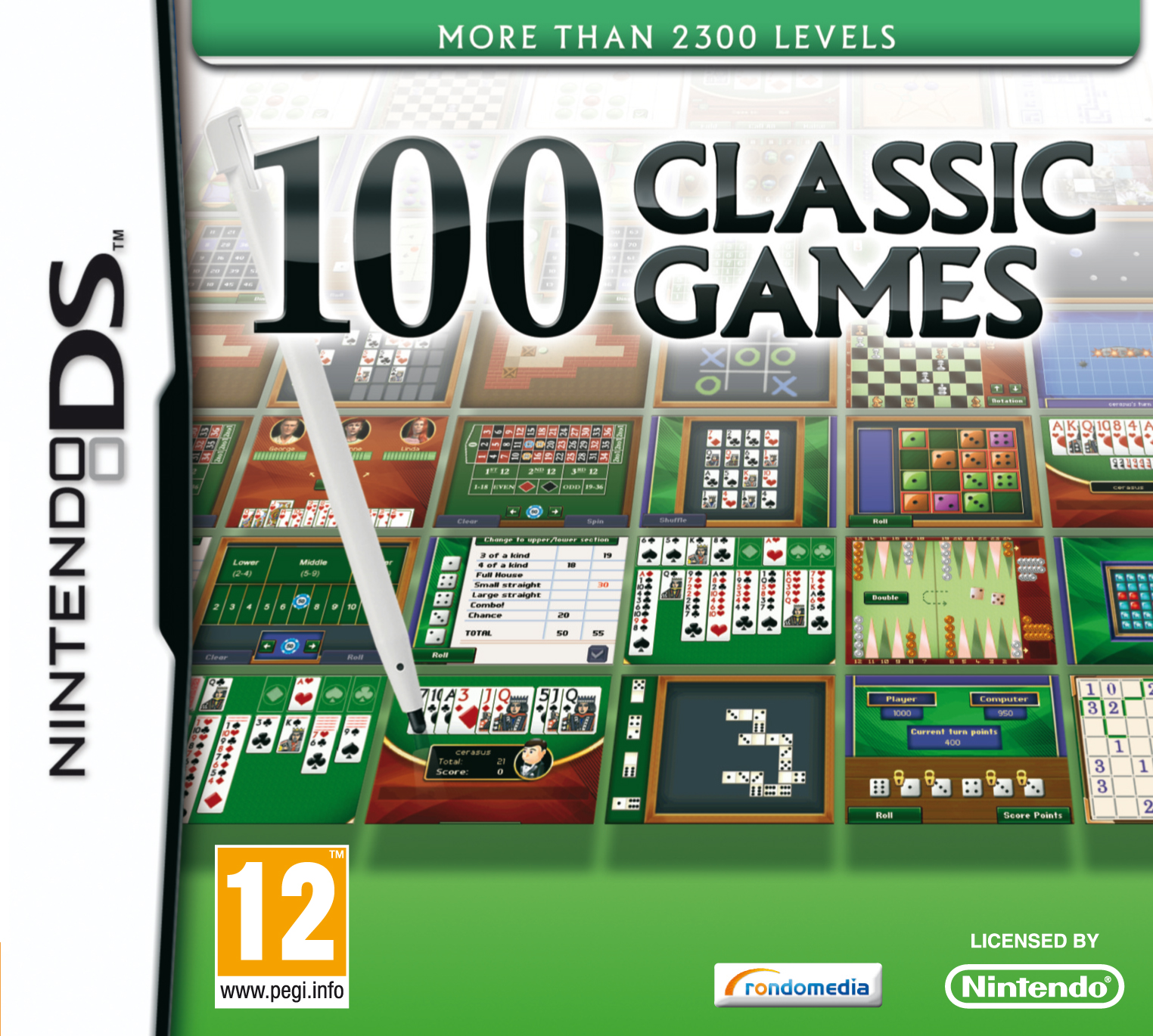 100 Classic Games inlay FAH