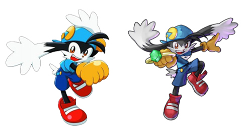 Klonoa would start to look a little taller in his later adventures