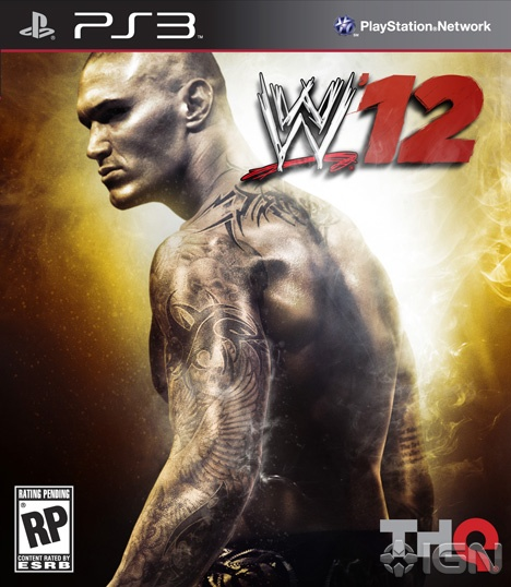 WWE 12 Cover