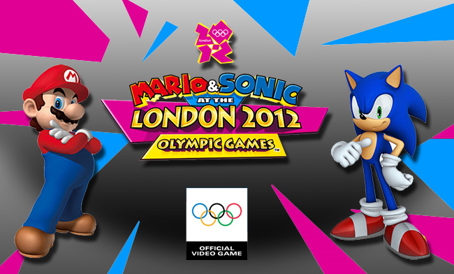 Mario and Sonic London Logo