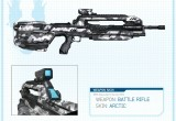Halo 4 Artic Weapon BR Skin