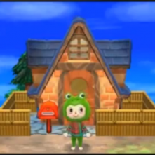 Animal Crossing 3DS Frog Suit