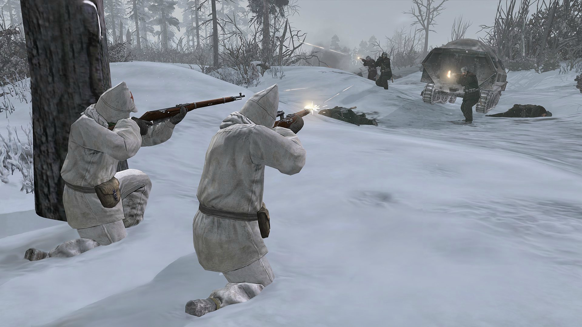 Company of Heroes 2 Soviet shoot Nazi