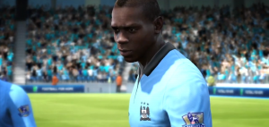 FIFA 13 Ballotelli Man City new kit
