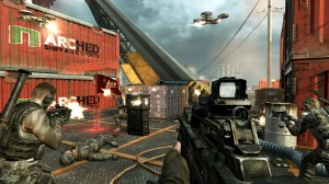 Black Ops II Cargo - Flag Rush