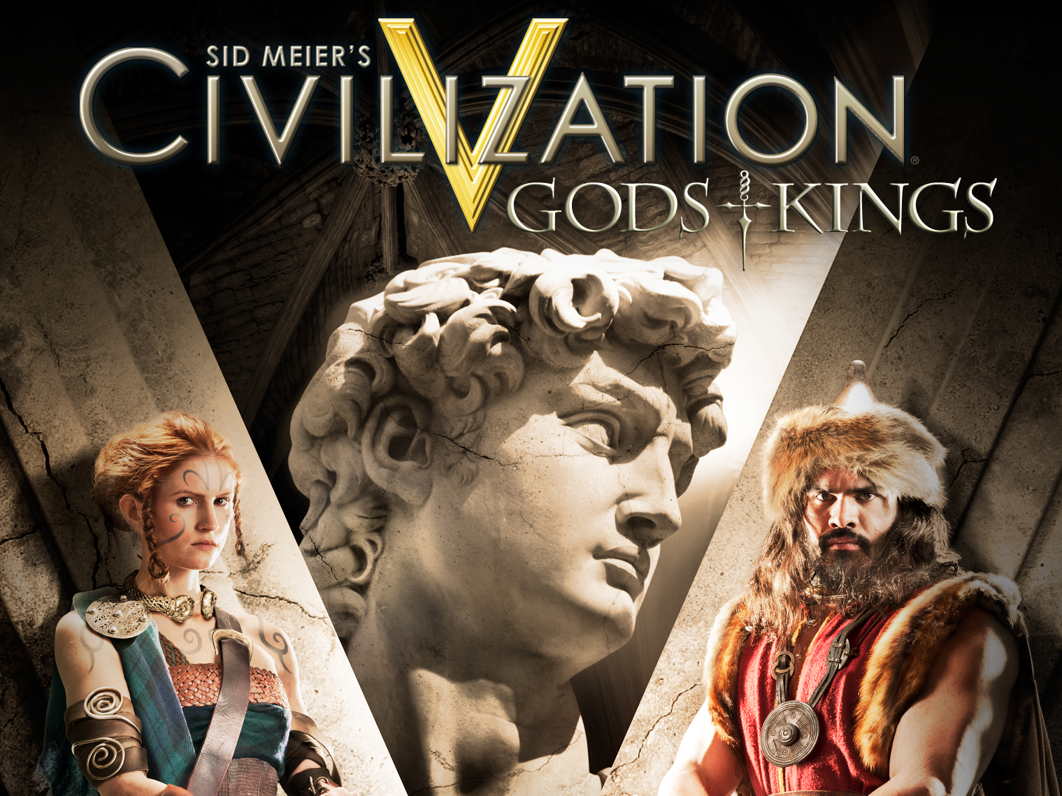 Civilization Gods and Kings Logo