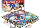 Sonic The Hedgehog Monopoly Board