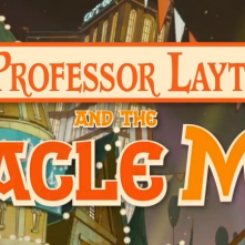 Prof Layton Miracle Mask Logo