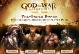 God of War Ascension Pre-Order Mythological Heroes