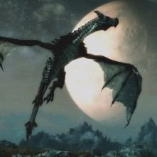 Skyrim Dragon Moon