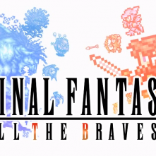 Final Fantasy All the bravest logo