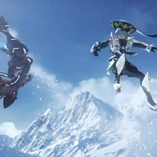 Phantasy Star Online 2 Snowjump