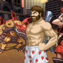 Project X Zone Chat_before_battle1