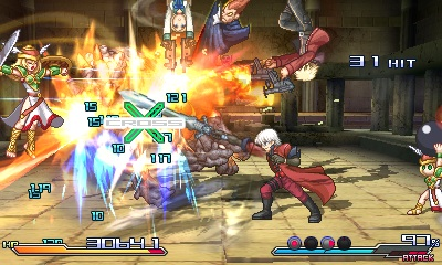 Project X Zone FiveCharactersAttack_3_3