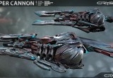Crysis 3 Reaper Cannon Art
