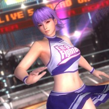 Dead or Alive 5 Plus Ayane Cheerleader Costume
