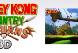 Donkey Kong Country Returns 3D Screen 1
