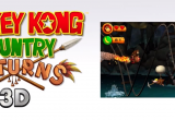 Donkey Kong Country Returns 3D Screen 3