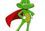 Superfrog NewCharacterStanding
