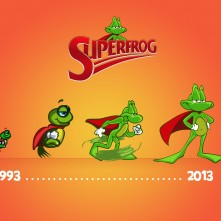Superfrog OldtoNewProgress