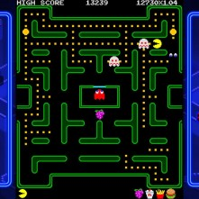 Pac-Man tournament