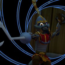 Sly Cooper Thieves in TIme Vita Sir Galleth Cooper