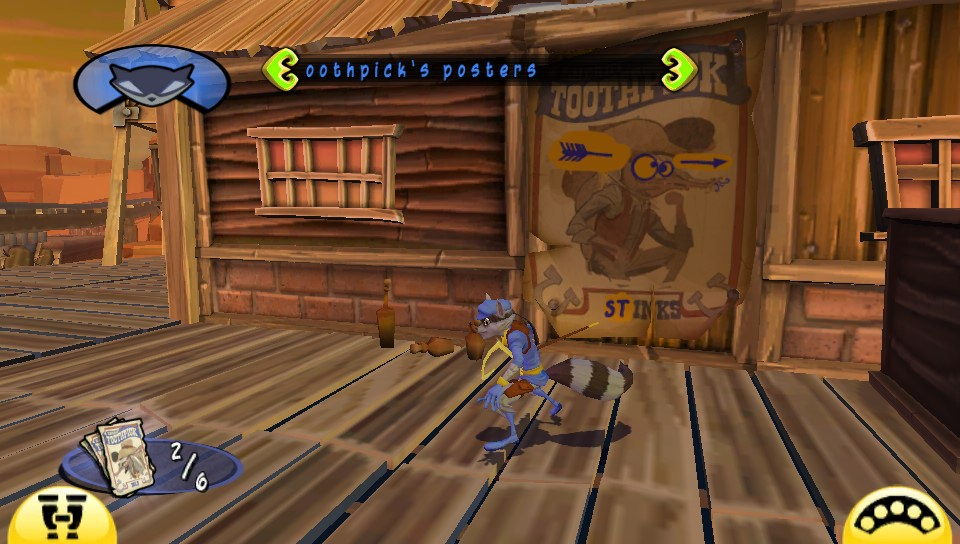 Sly Cooper Thieves in Time Vita Western