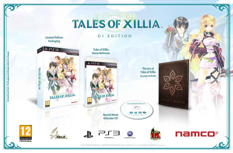 Tales Of Xillia d1 edition