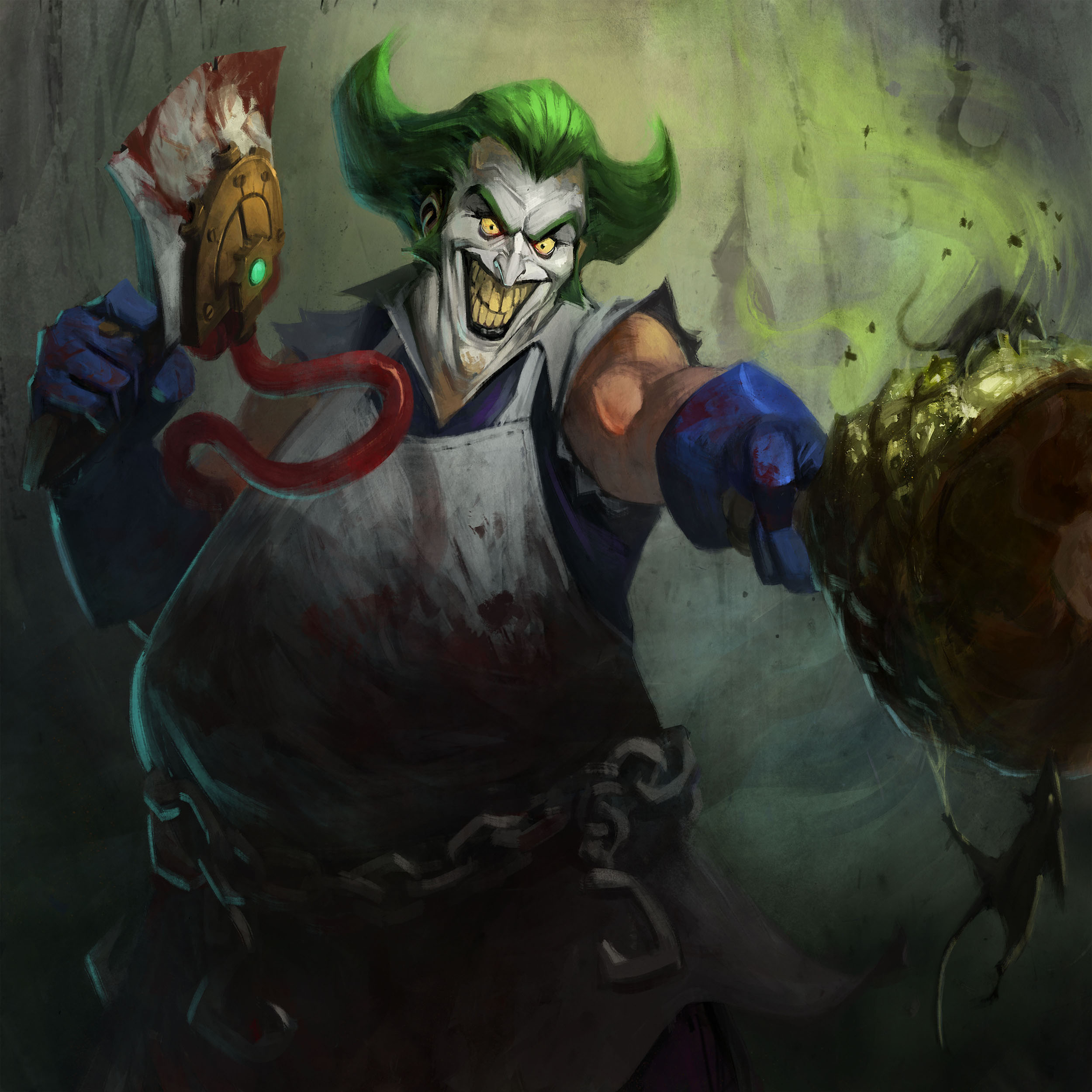 Infinite Crisis - Gaslight Joker art