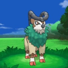 POkemon X and y Gogoat