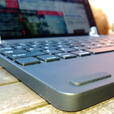 Solid rubber guards keep your screen millimetres away from the tactile keys when closed